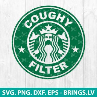 Starbucks Coughy Filter SVG