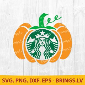Starbucks Pumpkin SVG