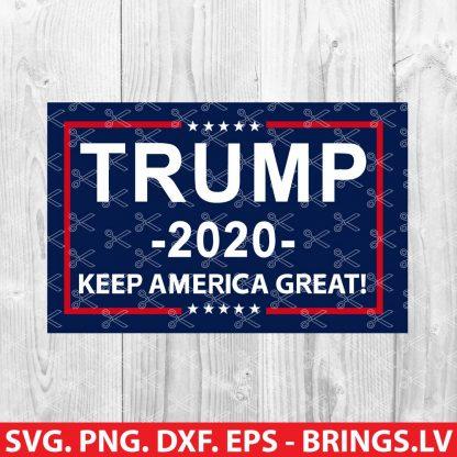 Trump Keep America Great 2020 SVG