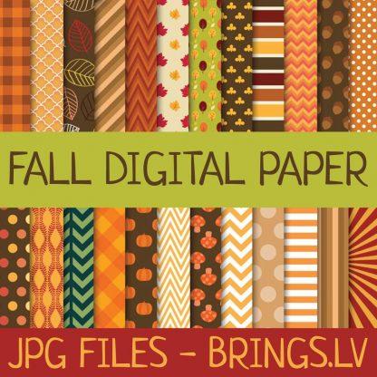 Fall Digital Pape