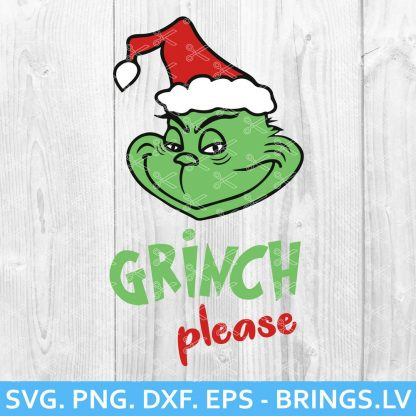 Grinch Please SVG