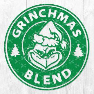 Grinchmas Blend SVG