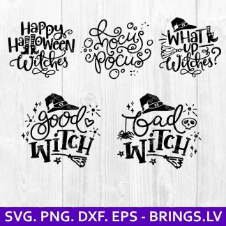 Halloween SVG Bundle Pack