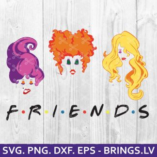 Hocus Pocus Friends SVG