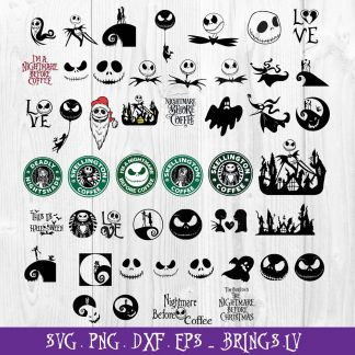 Nightmare Before Christmas SVG Bundle