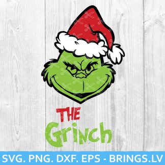 The Grinch SVG