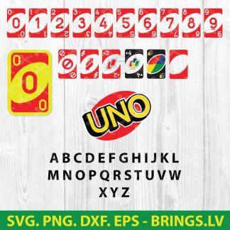 UNO SVG BUNDLE