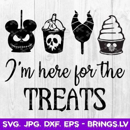 Disney Halloween Treats SVG