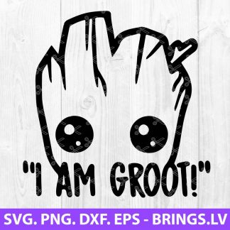 I Am Groot SVG