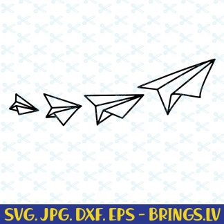 Paper Planes SVG