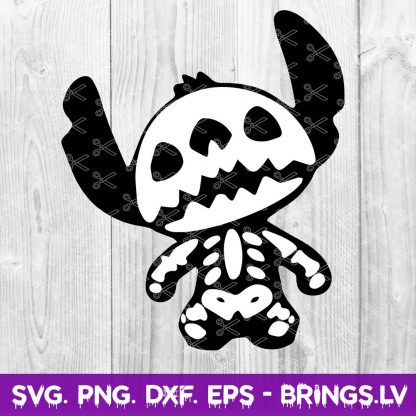 Stitch Skeleton SVG