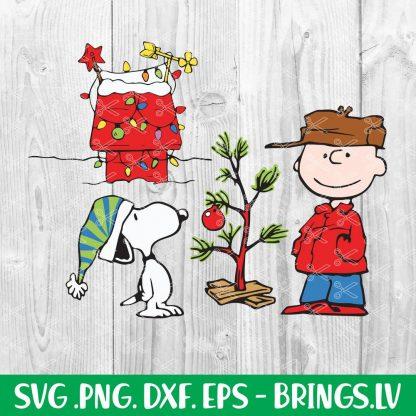 CHARLIE BROWN CHRISTMAS SVG