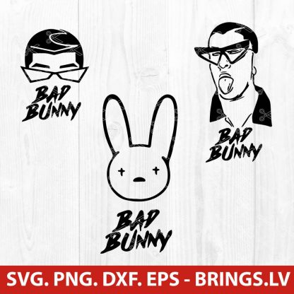Bad Bunny SVG