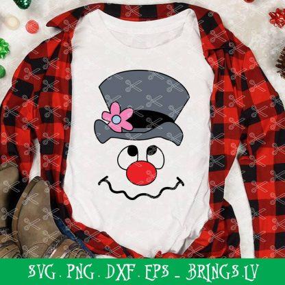 Frosty the Snowman SVG