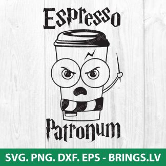Harry Potter Espresso Patronum SVG