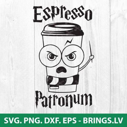 HARRY POTTER ESPRESSO PATRONUM SVG