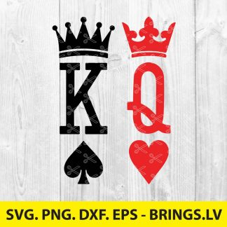 King and Queen SVG