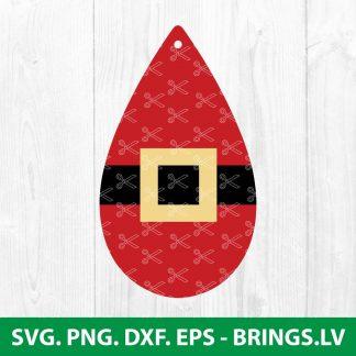 Christmas Earrings SVG
