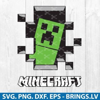 Minecraft SVG File