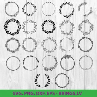Wreath SVG Bundle