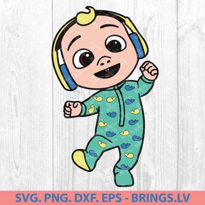 BABY JJ COCOMELON SVG