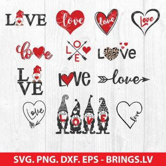 Valentine Love SVG Bundle
