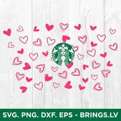 Valentines Starbucks SVG