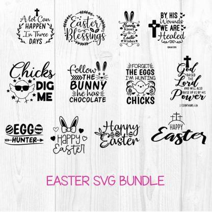 Easter SVG Bundle Cut File