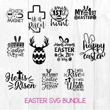 Happy Easter SVG Bundle File