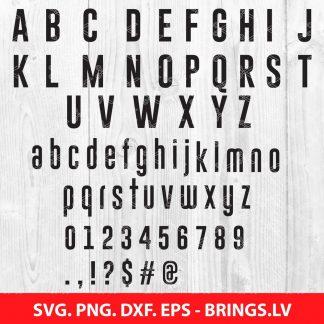 Go bold font SVG