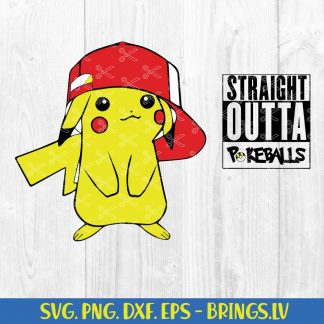 Pikachu Pokémon SVG