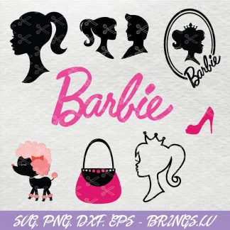 Barbie Doll Bundle SVG