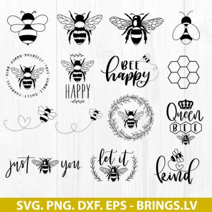 Bee SVG Bundle