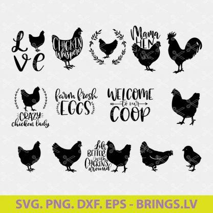 Chicken SVG Bundle