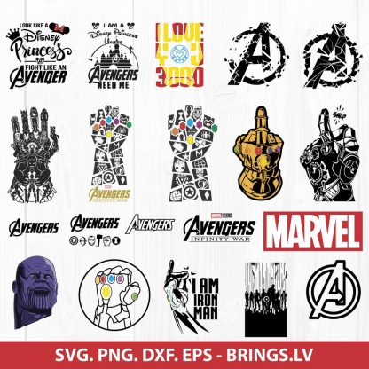 Marvel SVG Avengers SVG