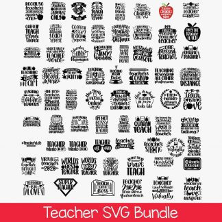 Teacher Bundle SVG