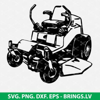 Zero Turn Mower SVG