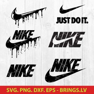 Nike Drip SVG