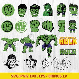 Hulk svg bundle
