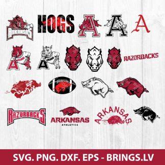 Arkansas Razorback SVG