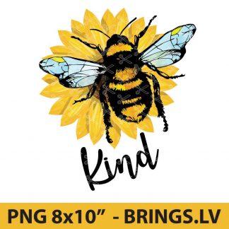Bee Kind sublimation design