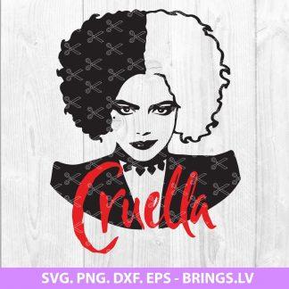 Cruella SVG