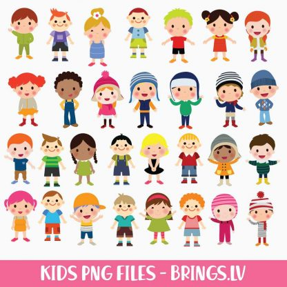 KIDS CLIPART PNG