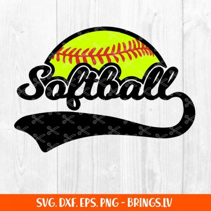 Softball Svg