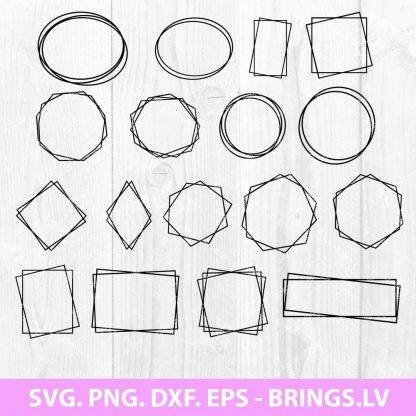 Square Frame SVG Bundle