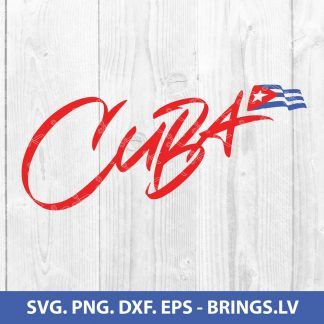Cuba Svg