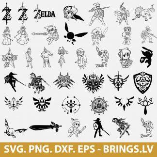 Legend Of Zelda SVG