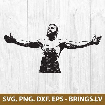 Conor McGregor SVG