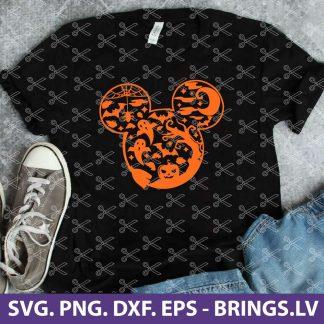 Mickey Halloween SVG