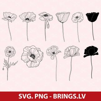Poppy SVG